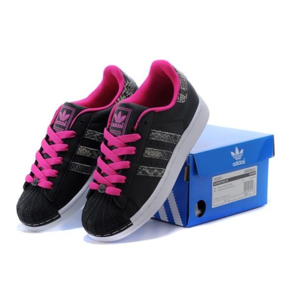 3df94013b5127a adidas superstar femme noir et rose