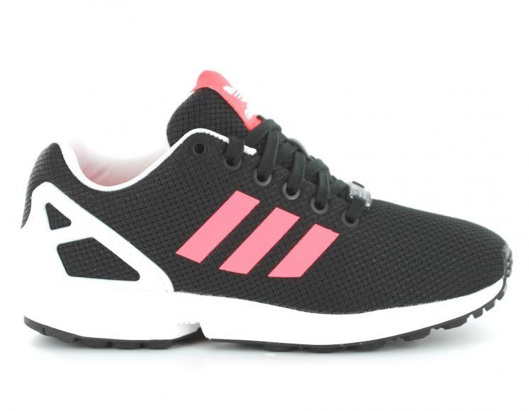 adidas zx flux femmes noir et rose
