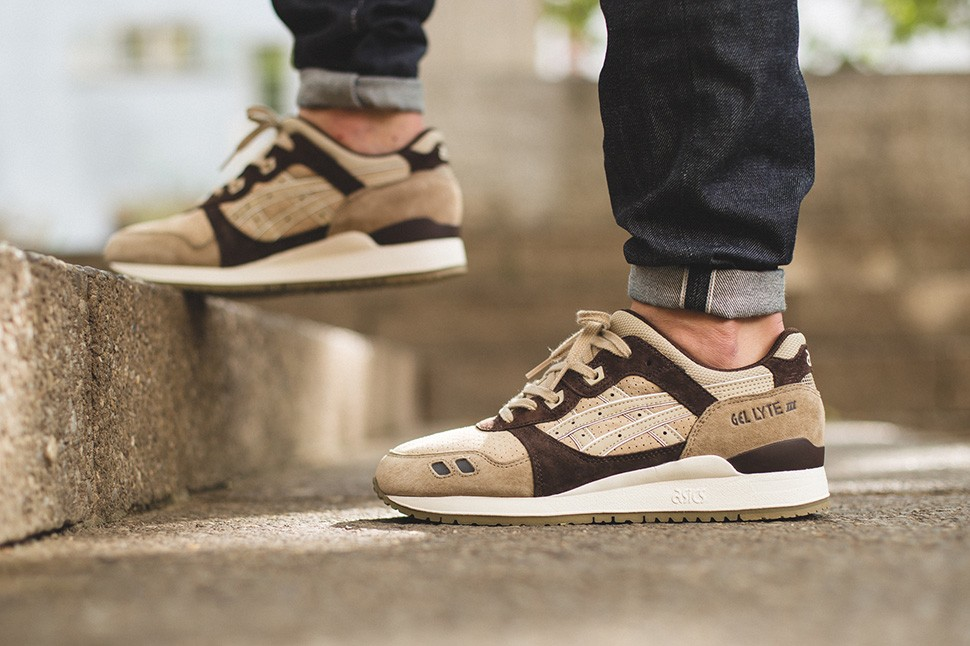 huge inventory uk cheap sale discount sale asics gel lyte iii beige brown