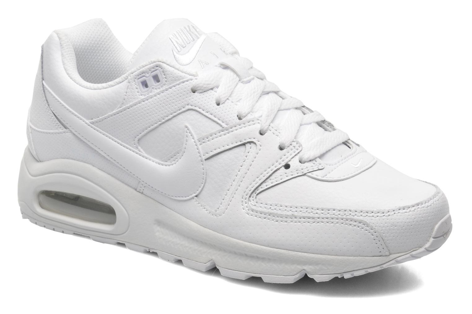 quality design 1ca9b 97a58 nike air max command leather blanche